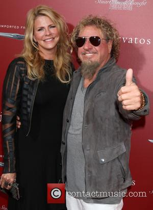 Kari Karte-hagar and Sammy Hagar