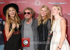 Kari Karte-hagar, Sammy Hagar and Daughters