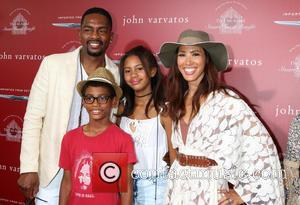 Bill Bellamy, Kristen Bellamy and Family