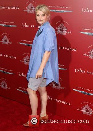 Sarah Jones - John Varvatos 13th Annual Stuart House Benefit at the John Varvatos Store - Arrivals at John Varvatos...
