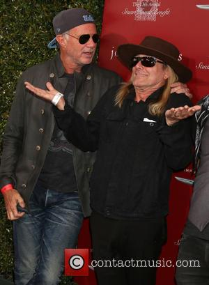 Chad Smith and Robin Zander