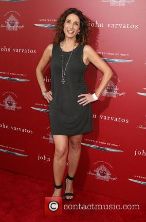 Melina Kanakaredes - John Varvatos 13th Annual Stuart House Benefit at the John Varvatos Store - Arrivals at John Varvatos...