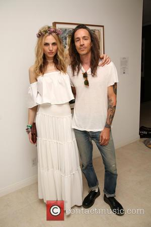 Andreja Pejic and Brandon Boyd