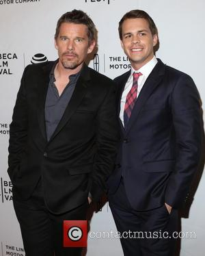 Ethan Hawke and Johnny Simmons