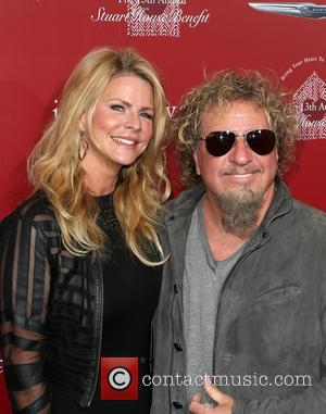 Sammy Hagar and Kari Hagar