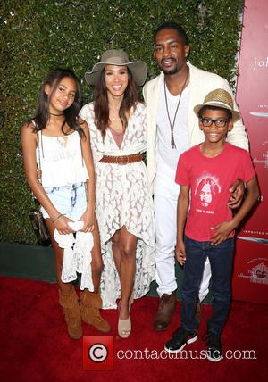 Kristen Bellamy, Bill Bellamy, Bailey Ivory-rose Bellamy and Baron Bellamy