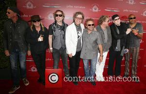 Chad Smith, Robin Zander, Daxx Nielsen, Tom Petersson, Michael Anthony, Sammy Hagar, Rick Nielsen and Vic Johnson