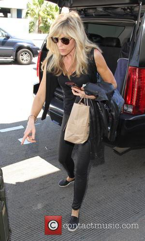 Marla Maples - Marla Maples arrives at Los Angeles International Airport - Los Angeles, California, United States - Monday 18th...