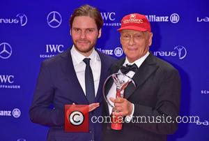 Daniel Bruehl and Niki Lauda
