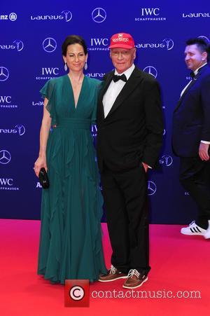 Birgit Wetzinger and Niki Lauda