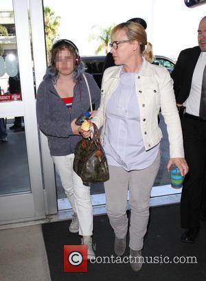 Patricia Arquette and Harlow Olivia Calliope Jane