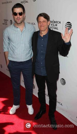 Zachary Quinto and Adam Nimoy