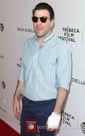 Zachary Quinto Injures Hand With Bottle Cap