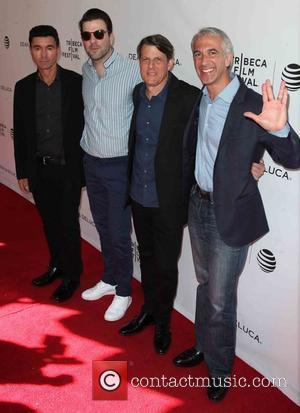 Dave Zappone, Zachary Quinto, Adam Nimoy and Scott Mantz