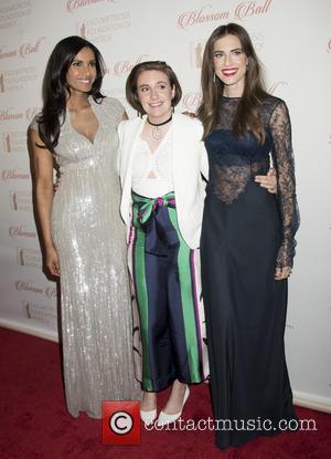 Padma Lakshmi, Lena Dunham and Allison Williams