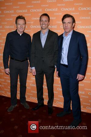 Bryan Cranston, Eric Berger and Dennis Quaid