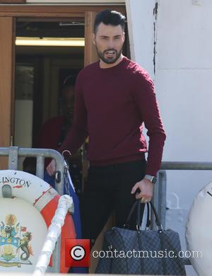 Rylan Clark - Rylan Clark at the This Morning wedding - London, United Kingdom - Wednesday 20th April 2016