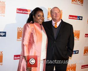 Margarette Purvis and Mario Batali