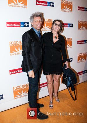Jon Bon Jovi , Dorothea Hurley - Food Bank For New York City Annual Can-Do Awards Dinner at Cipriani's on...