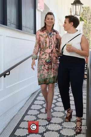Ellen Pompeo and Lena Dunham