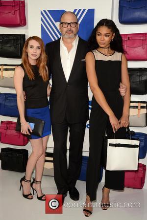 Emma Roberts, Reed Krakoff and Chanel Iman