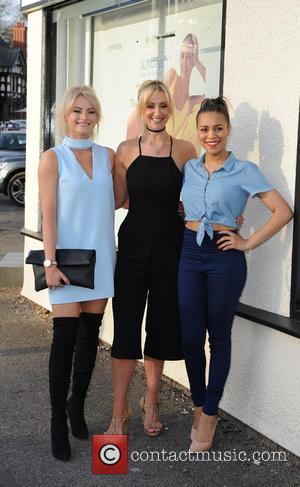 Katie Mcglynn, Catherine Tyldesley and Tisha Merry
