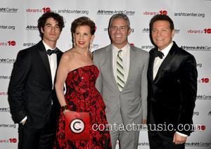 Darren Criss, Adrienne Arsht, Andy Cohen and Michael Feinstein