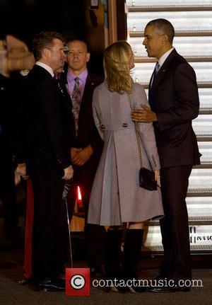 President Barack Obama and Matthew Barzun