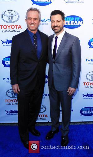Robert F. Kennedy Jr. and Jimmy Kimmel