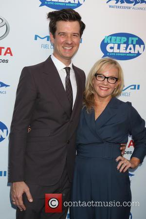 Christian Hebel and Rachael Harris