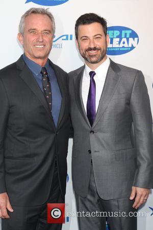Bobby Kennedy Jr and Jimmy Kimmel