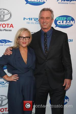 Rachael Harris and Bobby Kennedy Jr