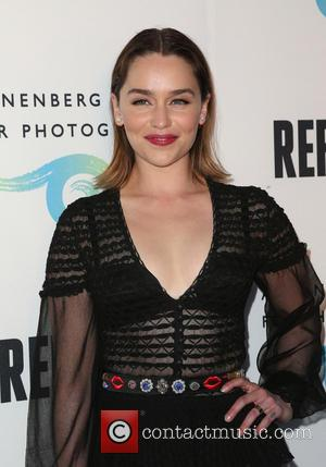Emilia Clarke - The Annenberg Space For Photography Presents 'Refugee' - Arrivals at Annenberg Space For Photography - Century City,...