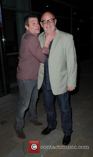Richard Hawley and Connor Mcintyre