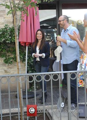 Holly Marie Combs - Holly Marie Combs at a tree planting event at The Grove in Hollywood - Los Angeles,...