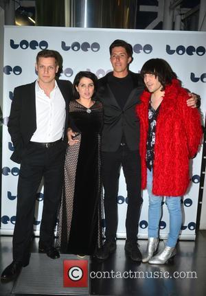Max Bennett, Sadie Frost, Ben Charles Edwards and Noel Fielding