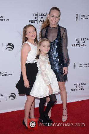 Natalie Coughlin, Mckenna Grace and Britt Robertson