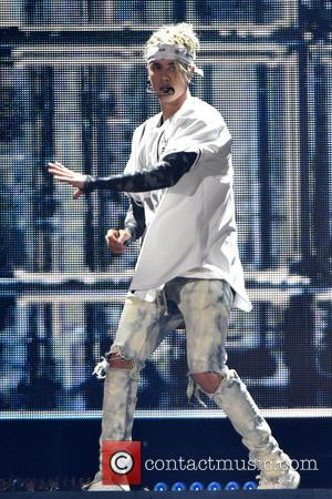 Justin Bieber - Justin Bieber performs at the Allstate Arena on his Purpose World Tour at Allstate Arena - Rosemont,...
