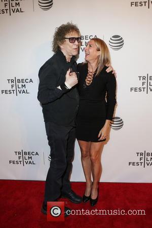 Mick Rock and Marisa Polvino