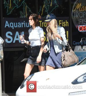 Alexa Chung - Alexander Skarsgard and his girlfriend Alexa Chung leave Joan's on Third in Studio City after lunch -...