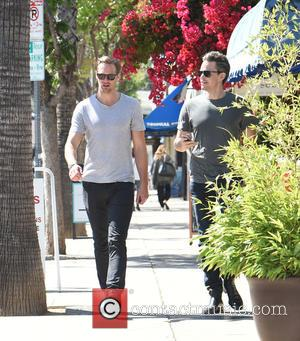 Alexander Skarsgard - Alexander Skarsgard and his girlfriend Alexa Chung leave Joan's on Third in Studio City after lunch -...