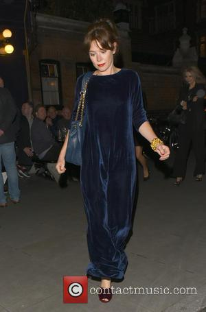 Anna Freil - Anna Friel spotted leaving the Chiltern Firehouse - London, United Kingdom - Saturday 23rd April 2016