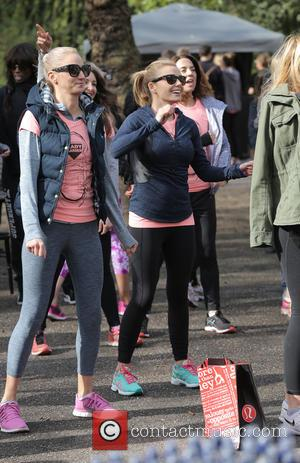 Katherine Jenkins - Celebrities take part in Lady Garden 5K Fun Run in aid of Silent No More Gynaecological Cancer...