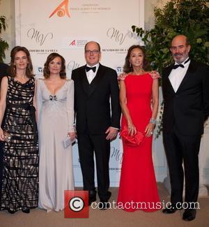 María Garcia De La Rasilla, Carol Portabella, Prince Albert Ii Of Monaco, Isabel Preysler and Manuel Ruiz De La Prada