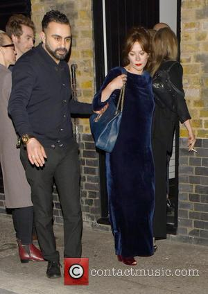 Anna Friel - Anna Friel leaves Chiltern Firehouse for a second time in the same evening at w1 - London,...