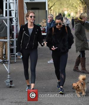 Millie Mackintosh - Celebrities including Millie Mackintosh, Katherine Jenkins and Cara Delevingne compete in a 5k run for Gynaecological Cancer...
