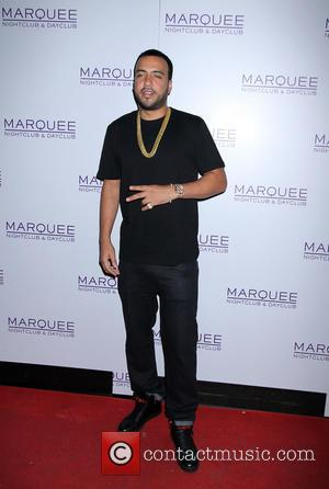 French Montana - French Montana arrives at Marquee nightclub for a live performance - Las Vegas, Nevada, United States -...