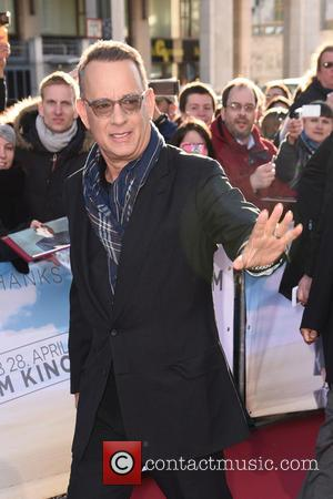 Tom Hanks - German premiere of 'Ein Hologramm für den Koenig' (A Hologram for the King) at Zoo Palast movie...