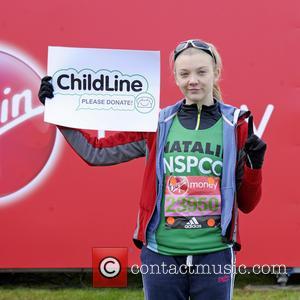 Natalie Dormer - 2016 Virgin Money London Marathon Celebrity Start at Blackheath, London - London, United Kingdom - Sunday 24th...