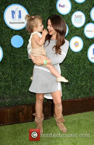 Tammin Sursok and Daughter Phoenix Emmanuel Sursok-mcewan